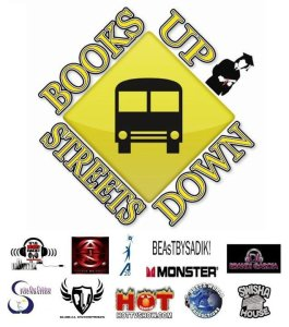 Books Up Streets Down Community Event & Concert