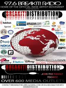 BreakIt! Distribution - A BreakIt! Radio & Broadcasting Company