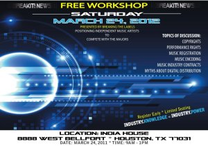 INDUSTRY KNOWLEDGE FREE WORKSHOP PRESENTED BY BREAKING THE LABELS
